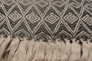 throw 010-90-1131 alpaca-cotton blend