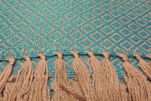 throw 010-90-1136 alpaca-cotton blend