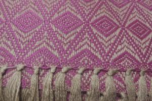 throw 010-90-1137 alpaca-cotton blend