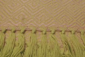 throw 010-90-1143 alpaca-cotton blend