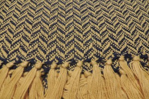 throw 010-90-1147 alpaca-cotton blend