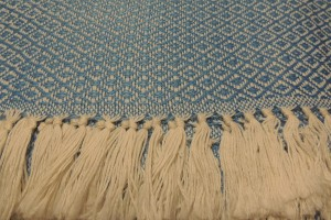 throw 010-90-1153 alpaca-cotton blend