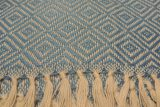 throw 010-90-1158 alpaca-cotton blend