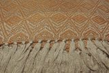 throw 010-90-1162 alpaca-cotton blend