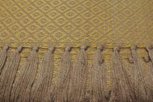throw 010-90-1178 alpaca-cotton blend