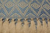 throw 010-90-1180 alpaca-cotton blend
