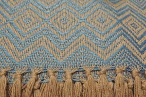 throw 010-90-1184 alpaca-cotton blend