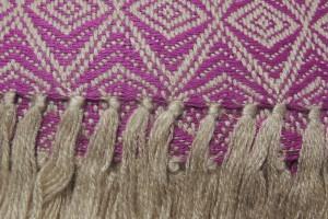 throw 010-90-1190 alpaca-cotton blend