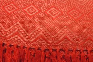 throw 010-90-1192 alpaca-cotton blend
