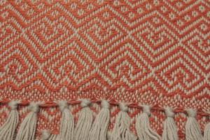 throw 010-90-1201 alpaca-cotton blend