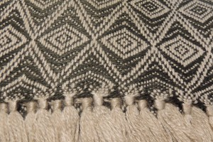 throw 010-90-1207 alpaca-cotton blend