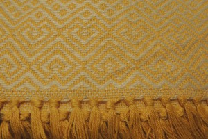 throw 010-90-1225 alpaca-cotton blend
