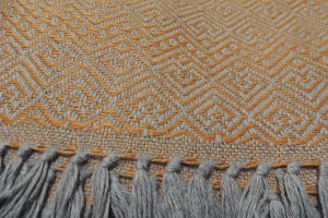 throw 010-90-1243 alpaca-cotton blend