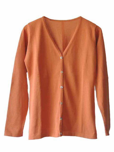 PFL Premium cardigan Luana classic, orange