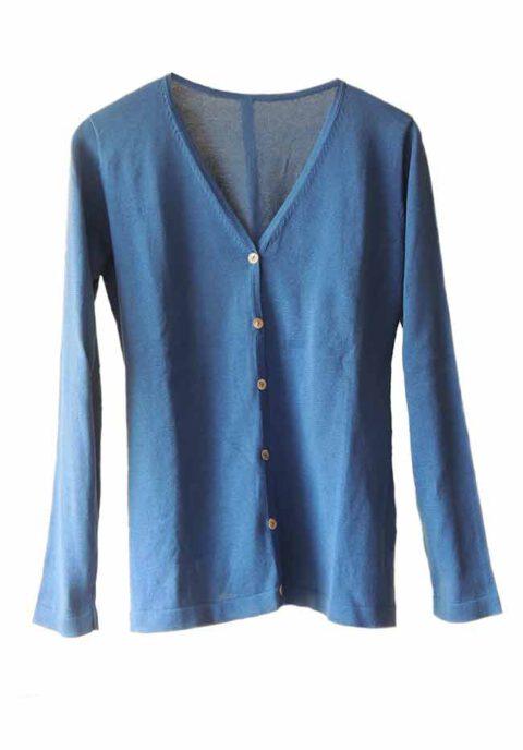 PFL Premium cardigan Luana classic, blue