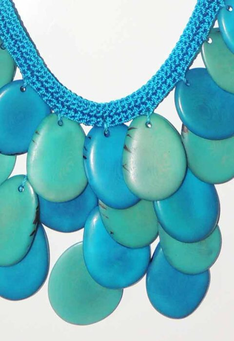 Jewelry, Taqua collection, necklace and earrings