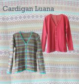 PFL Premium cardigan Luana a classic cardigan with V-neck and button closure