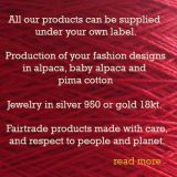 Popsfl, production of clothing under your own label in alpaca, baby alpaca and pima cotton