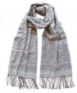 Dames sjaals in een blend van alpaca, katoen en zijde