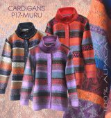 PopsFL wholesale women cardigans multicolor 100% Alpaca wool