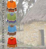 Suéteres de mujeres con capucha P43 Muru en alpaca.