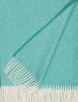Throw 100% baby alpaca, woven with herringbone design
