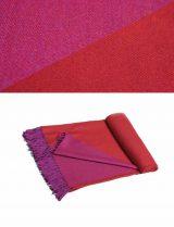 PFL Throw Anita collection 010-91-21-08 alpaca-wool-acrylic blend
