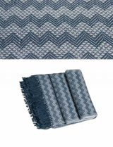 PFL Throw Anita collection 010-91-21-19 alpaca-wool-acrylic blend