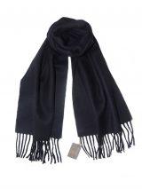 PFL classic scarf navy blue, baby alpaca