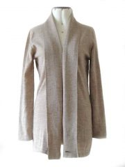 PFL cardigan with shawl collar, baby alpaca