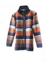 PFL knits: Cardigan Multicolor stripes001-01-2017_50