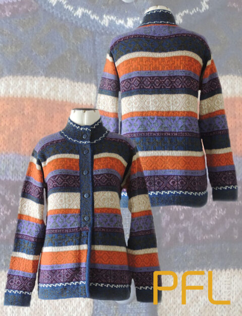 PFL knits: Cardigan Multicolor stripes001-01-2017_50