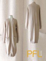 PFL knits long cardigan 001-01-2101-02