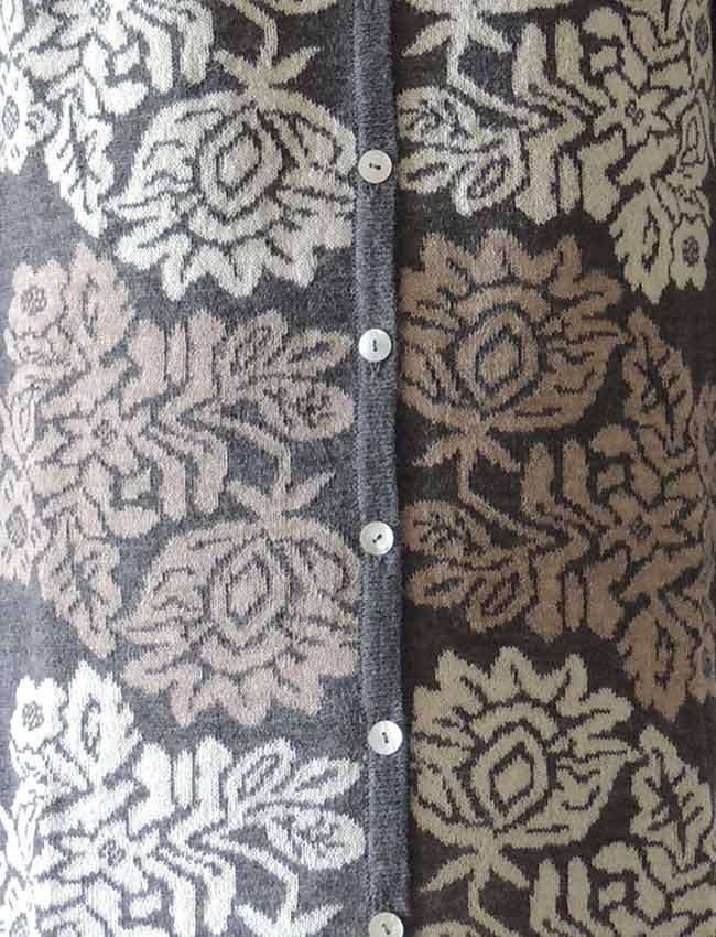 four color design with flower pattern
