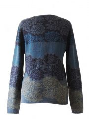 sweater Georgina blue grey