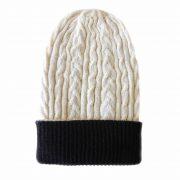 PopsFl knitwear producer wholesale PFL knitwear, beanie reversible two colors, unisex