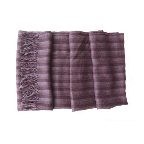 Popsfl Peru wholesale manufactor handwoven Shawl / Stole, super soft and lightweight 70% baby alpaca, 30% silk with fringes.