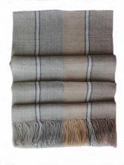 PFL knitwear scarf soft stripes 100% baby alpaca unisex
