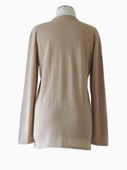 PFL knitwear, classic cardigan with crewneck