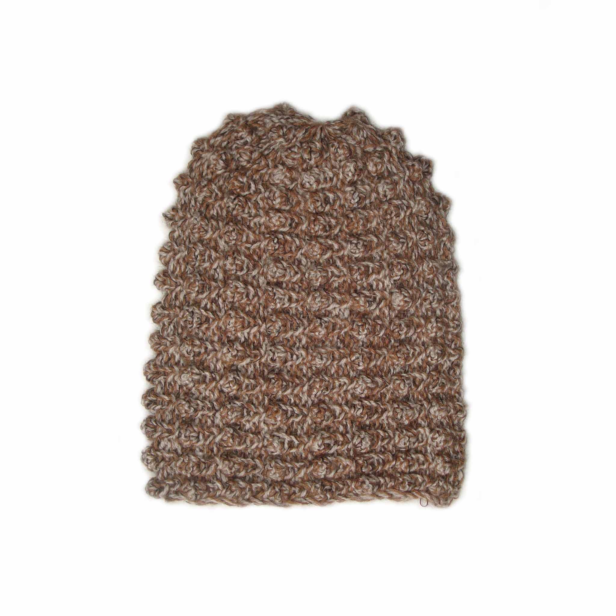 POPSFL wholesale producer, PFL knitwear, beanie oversized solid color with pattern, alpaca or alpaca blend