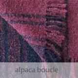 PopsFL knitwear Peru wholesale manufactor handwoven shawls, scarves in alpaca boucle
