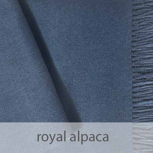 PopsFL knitwear Peru wholesale manufactor handwoven shawls and scarves in royal alpaca