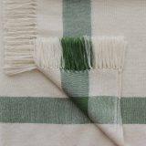 PopsFL knitwear Peru wholesale manufactor handwoven shawl - stole baby alpaca striped two colors