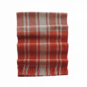 PopsFL knitwear Peru wholesale manufactorhandwoven scarf baby alpaca striped two colors