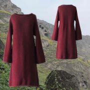 PopsFL Wholesale felted alpaca blend knitted dress