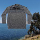 PopsFL men sweater 100% baby alpaca