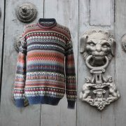 PopsFl men sweater alpaca stripes