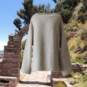PopsFL knitwear women sweater oversized felted alpaca blend