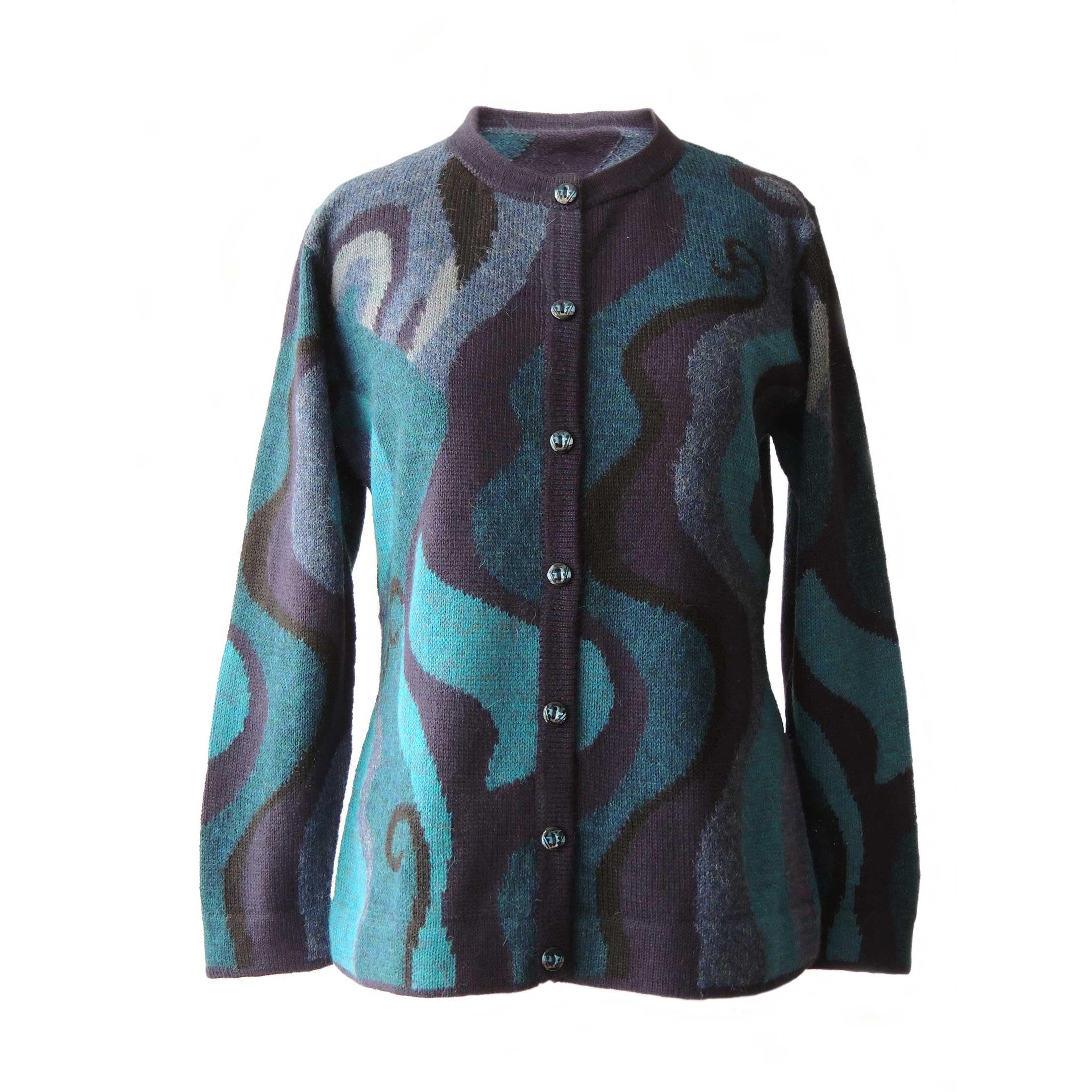 PopsFL knitwear wholesale Women sweater with all over