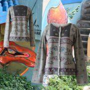 PopsFL Knitwear wholesale women's cardigan 100% baby alpaca
